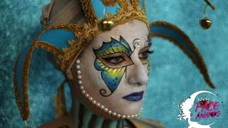 VENETIAN CARNIVAL MASK: NYX ITALIA FACE AWARDS 2017