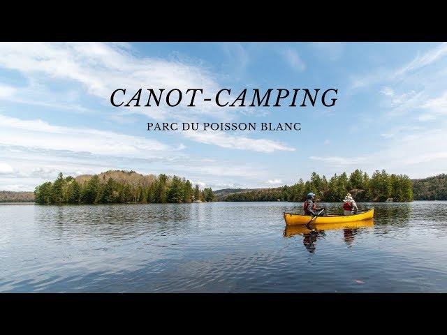 CANOT-CAMPING | On dort sur une ILE déserte | Parc du Poisson Blanc | #QUEBEC