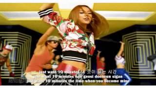 [FULL HD/REUP] Lee Hyori (이효리) - 10 Minutes [hangul + romanizations + eng sub]