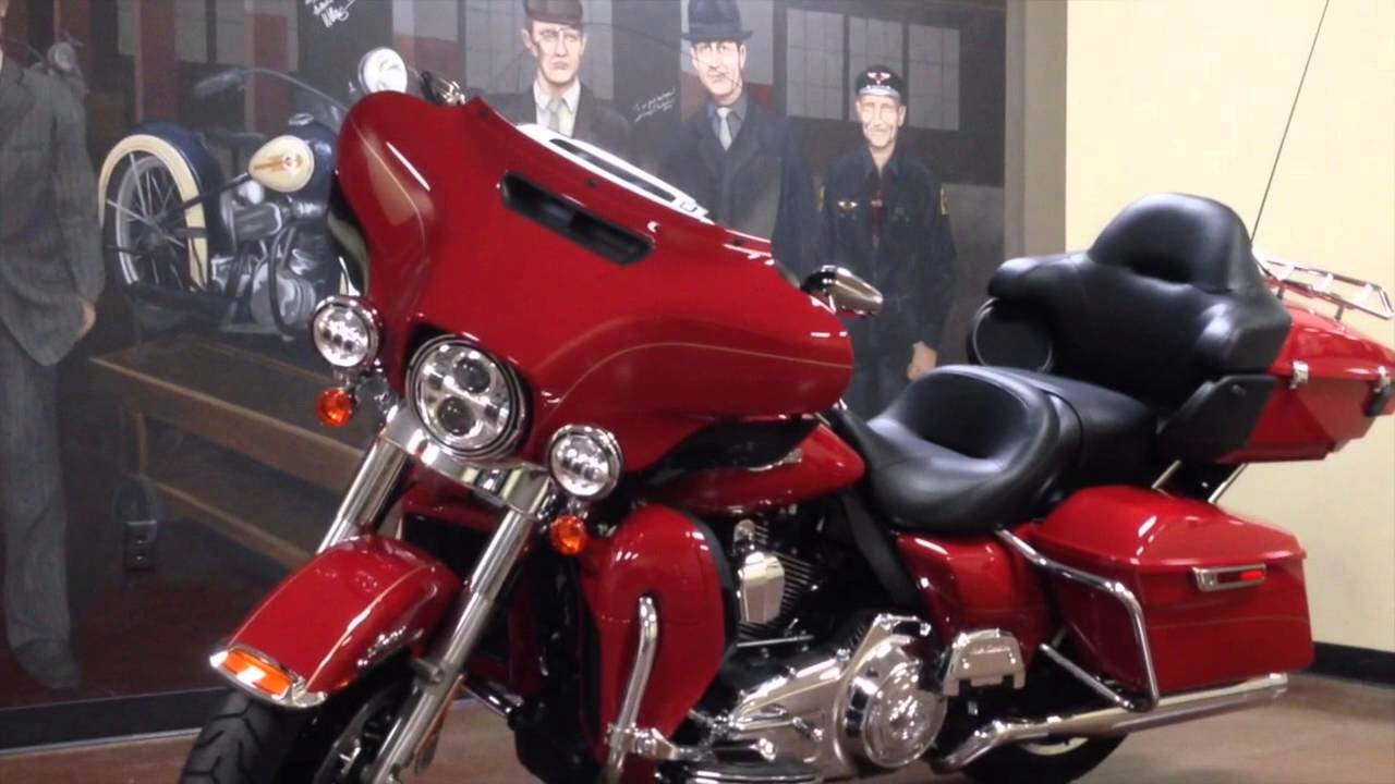 Bike of the Week-2015 Red Firefighter Edition Ultra Limited-Feb 4th