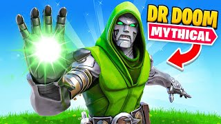 The DOCTOR DOOM *MYTHIC ONLY* Challenge in Fortnite!
