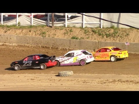 Mini Stock Heat Two | Old Bradford Speedway | 7-9-17