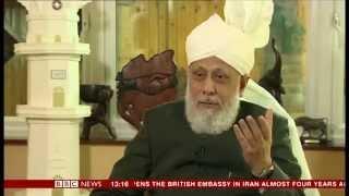 The Caliph Hazrat Mirza Masroor Ahmad on Radicalisation and Extremism (BBC News)