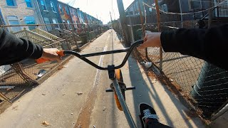EXPLORING THE STREETS OF EAST BALTIMORE (BMX)