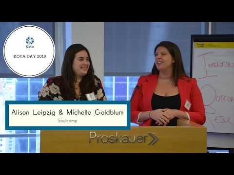 Kota Day 2018: Michelle Goldblum and Alison Leipzig