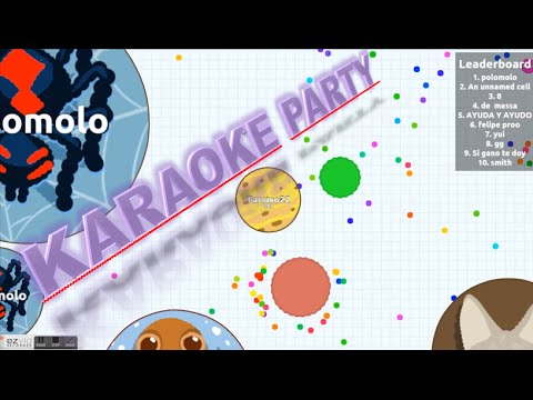 Karaoke Party - Agar.io