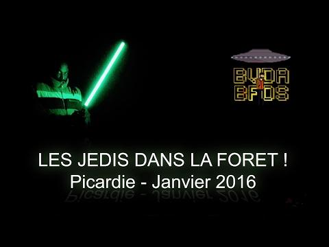 Les jedis dans la forêt - Jedis in the forest - Bushcraft en Picardie