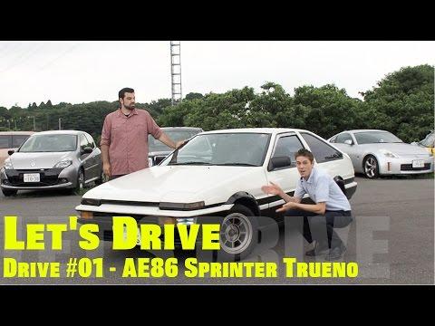 Let's Drive #01 - Toyota AE86 Sprinter Trueno