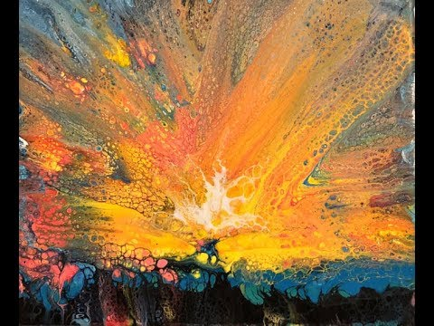 🎥  70 Acres Studio Sunday Live Stream - Acrylic Pouring Blown/Pulled Flowers
