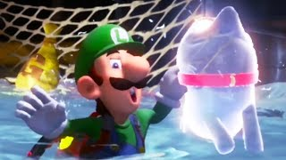 Luigi Basically Drowns In Luigi's Mansion 3 - Part 6