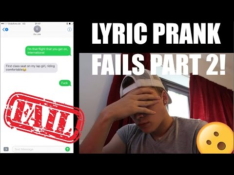 Lyric Prank FAILS Compilation #2 - Mike Fox