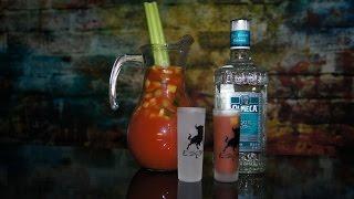видео Алкогольные коктейли с соусом табаско