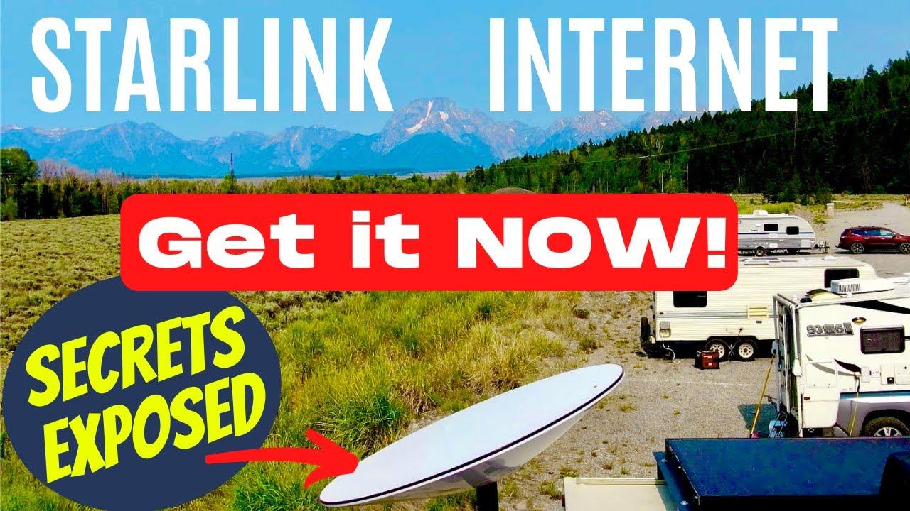 STARLINK RV SECRETS! HOW TO GET UNLIMITED RV INTERNET NOW! NO WAITLIST!