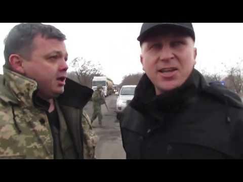 Стычка двух 'генералов' Аброськина и Семенченко на Донбассе