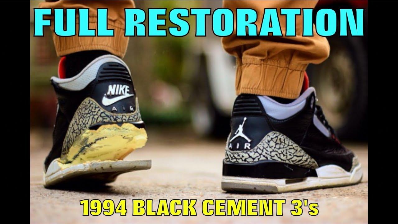 c4baea44ccd9de 1994 BLACK CEMENT III FULL RESTORATION!! - YouTube