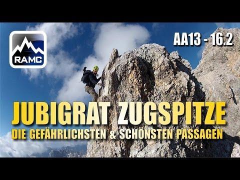 Jubiläumsgrat Zugspitze #2 - Die gefährlichsten & schönsten Passagen - Abenteuer Alpin 2013 (16.2)