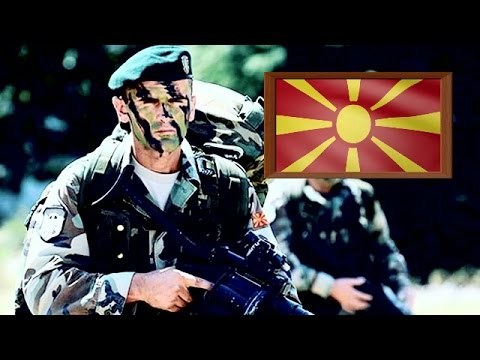 Modern Special Forces of Macedonia (FYROM) 2017