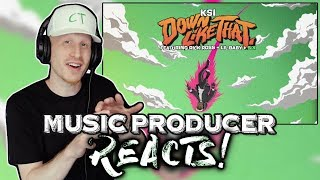 Music Producer Reacts to KSI - Down Like That (feat. Rick Ross, Lil Baby & S-X)