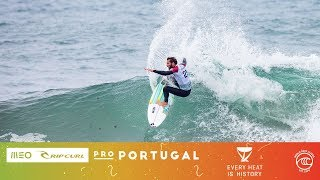 Ferreira vs. Dora vs. Morais - Seeding Round, Heat 3 - MEO Rip Curl Pro Portugal 2019