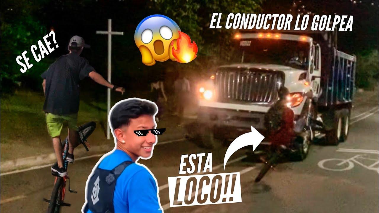 MI AMIGO ESQUIVA CARROS DE FRENTE 😱 Parche con LA PLAGA & ESCOBAR RIDER