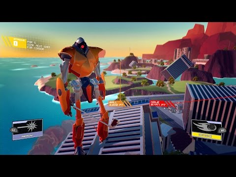 "PS4-Exclusive ""Dumb Robot Golfing Game"" Receives a Firm Release Date"