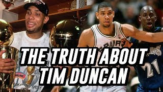 Exposing The Lies That Are Told About Tim Duncan