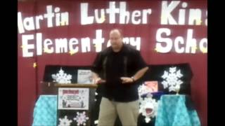 Winter Wonder Reading School Assembly Show with Earl Long