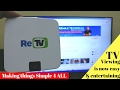 ReTV : Making Things simple for all
