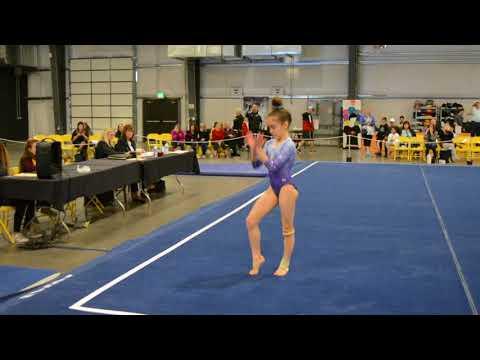 Mya Witte - Floor - 2018 Fiesta Bowl Elite Qualifier