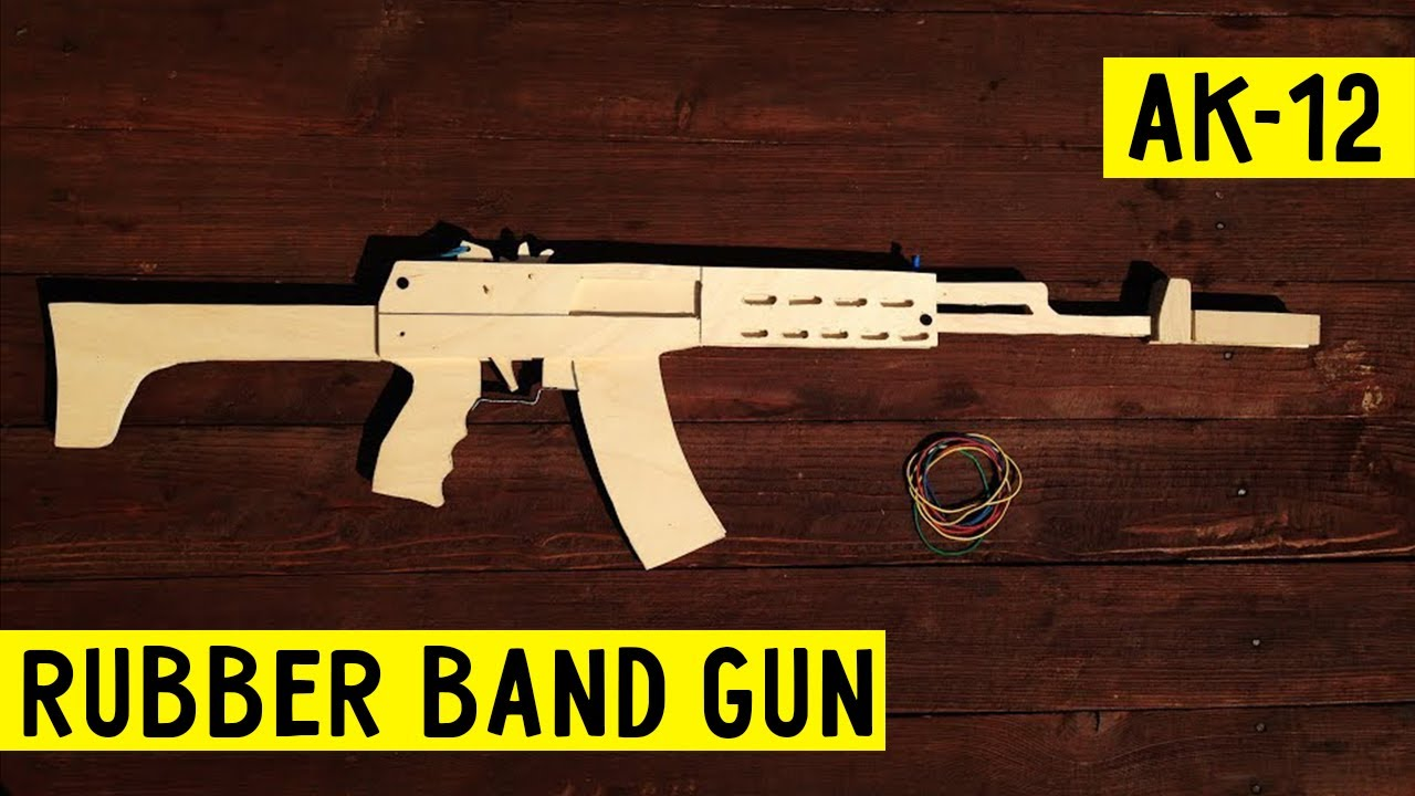 how to build a rubber band gun out of wood