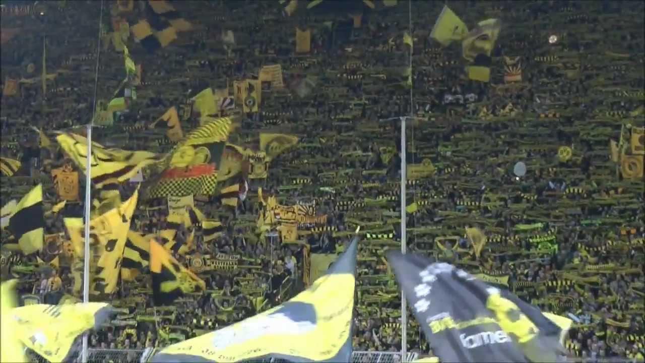 BVB - Bayern München 1-0 Stimmung Teil 1 Borussia Dortmund - FCB 11.04.2012