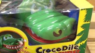 "CrocoDile Dentist game - ""You're the Doc in this game of daffy dentistry!!"""