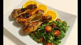 Курица с Апельсинами в Духовке Очень Вкусная Курица с Апельсинами