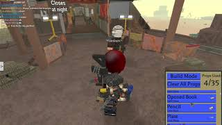 IM BACK IN FALLOUT ROBLOX EDITION!! (after the flash mirage roblox)
