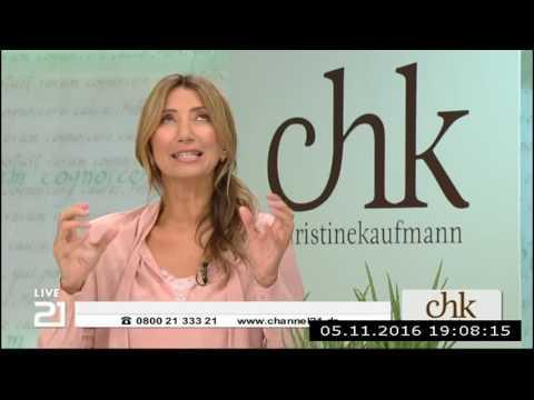 Christine Kaufmann bei Channel21 am 05.11.2016 - Teil 5