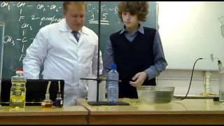 Урок химии взрыв метана