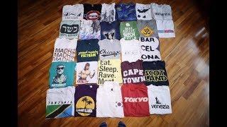 Как я распродал свои футболки из 'Орла и Решки' на благотворительной барахолке.
