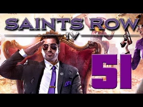 Saints Row IV - Gameplay Walkthrough Part 51 - On to Cyberspace