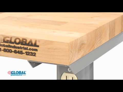 Globalindustrial.com Fixed Height Work Benches
