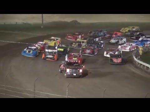 IMCA Late Model Deery Series feature Farley Speedway 4/15/16