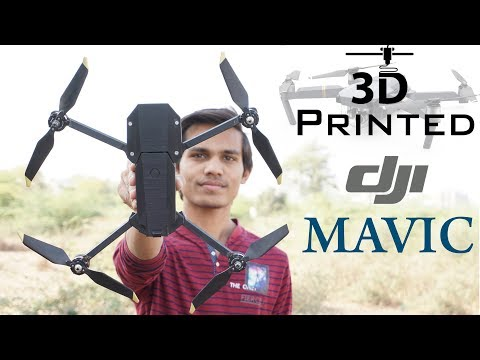 How to make 3D Printed DJI Mavic Drone | DIY Drone | Indian LifeHacker