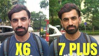 Nokia X6 Camera Compare With Nokia 7 Plus ! Hindi India