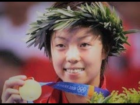 Zhang Yining - The Greatest Female Player In History (Table Tennis Legend)