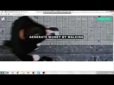 Yürüyerek Para Kazanmak - Bitwalking nedir?