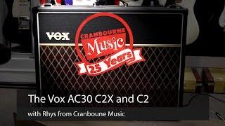 vox ac30 c2x and c2