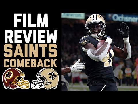 How the Saints Executed Their Comeback Win Over the Redskins in Week 11 | Film Review | NFL Network
