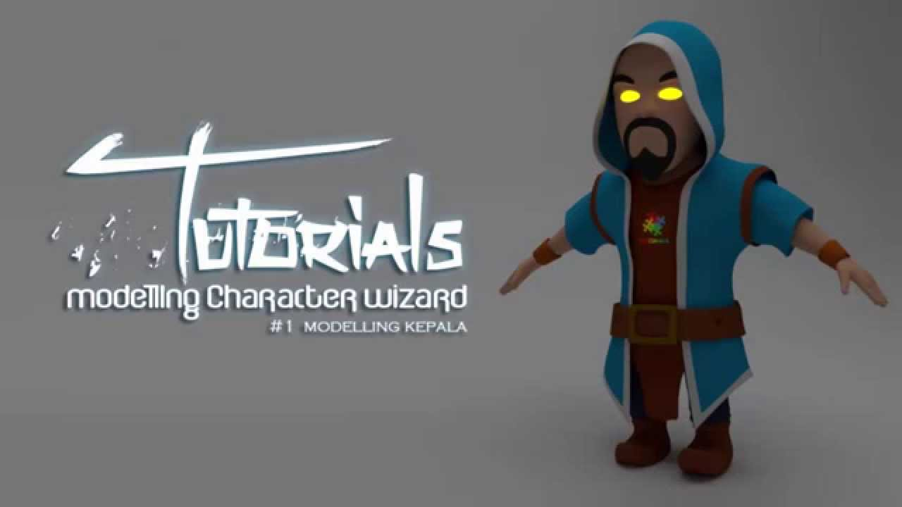 Modelling character wizard clash of clans di blender 1 modelling modelling character wizard clash of clans di blender 1 modelling kepala youtube malvernweather