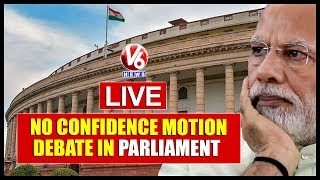 """No Confidence Motion"" Debate In Parliament LIVE 