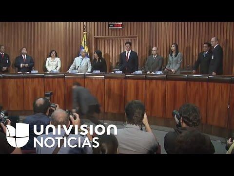 Parlamento venezolano busca destitución de magistrados del Tribunal Supremo de Justicia