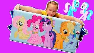 Обзор моей коллекции пони от Хасбро. Очень много пони. My Little Pony от Hasbro